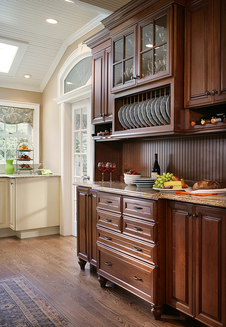 Country Cottage Galley Kitchen Traditional Kitchen