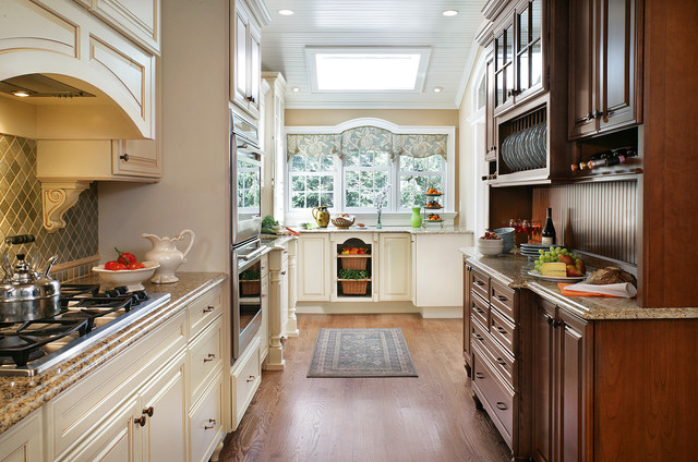 Country Cottage Galley Kitchen American Traditional Kitchen New York By Creative Design Construction Inc