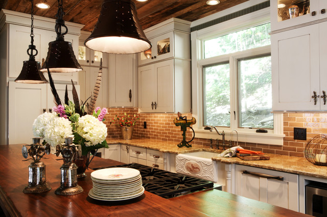 Country Cottage Renovation Reclaimed Wood Ceilings St