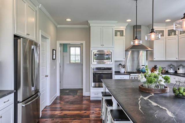 Farmhouse kitchen photo in Other