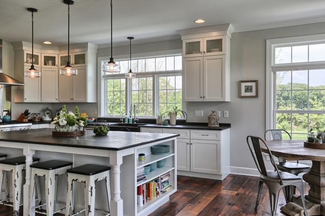 Country Farmhouse - Landhausstil - Küche - von Metzler Home Builders