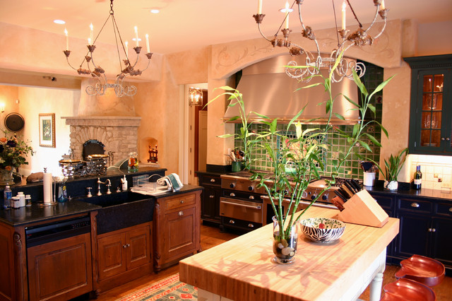 Country French Estate: Kitchen traditional-kitchen