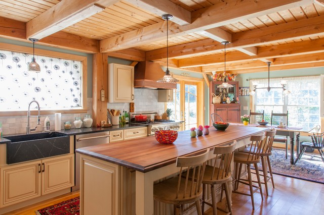 Country French Kitchen Farmhouse Kitchen Other Metro By