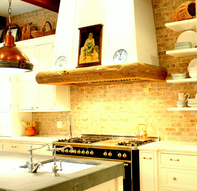 Country French Kitchen traditional-kitchen