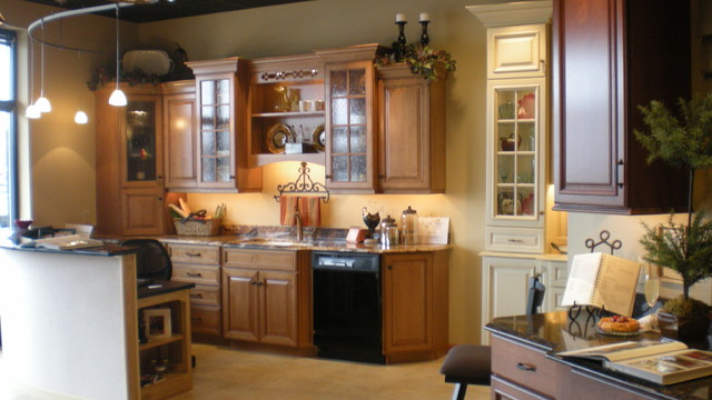 Country French Kitchen Showroom Display - Traditional - Kitchen - chicago - by Kitchens by Diane