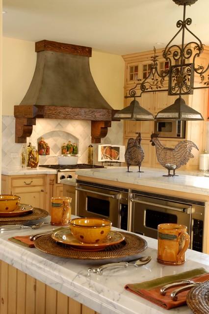 Lake Geneva Vacation House #4 traditional-kitchen