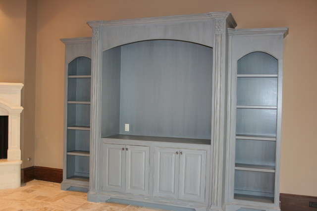Country French Style Kitchen - Cabinets - Traditional - Kitchen - Houston - by The Artists Hands ...