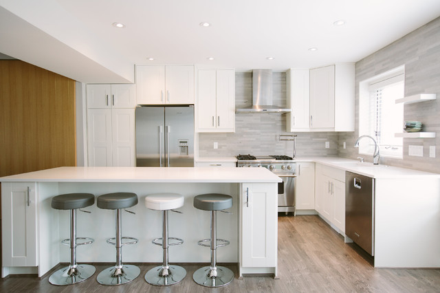 Country Hills Contemporary Kitchen Calgary By Holland Design