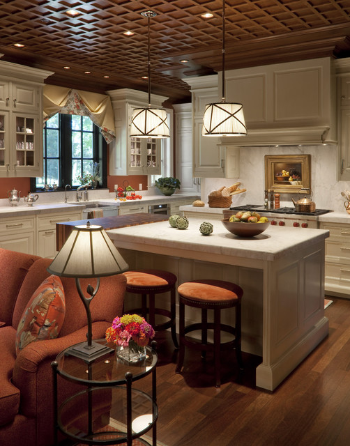 Country Home traditional kitchen