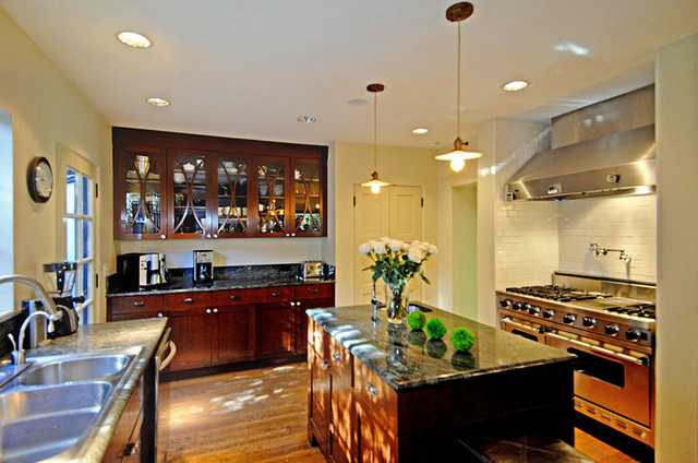 contemporary kitchen by Mark Dodge Design
