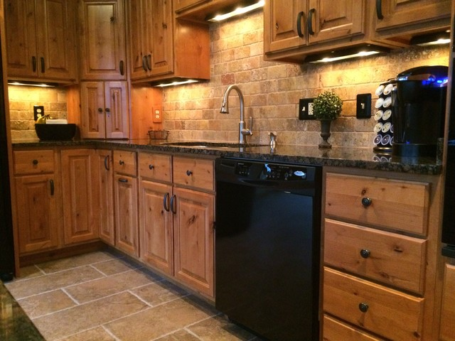 Country Kitchen Rustic Kitchen Indianapolis By