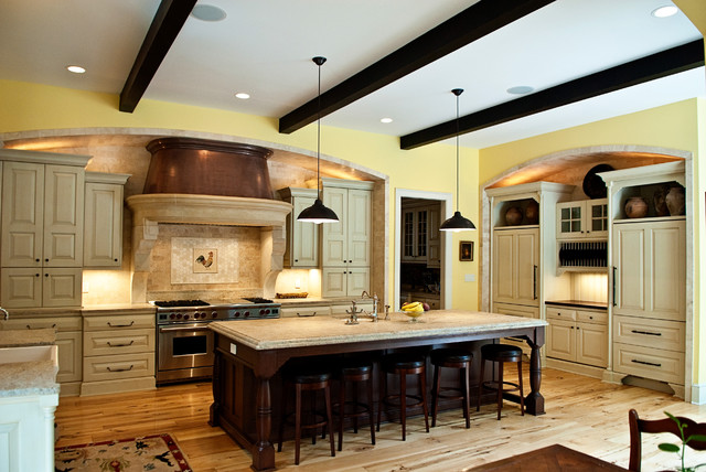 Country Kitchen traditional-kitchen