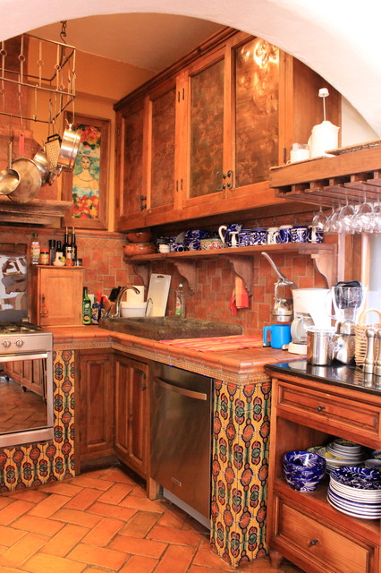 Country Kitchen in San Miguel de Allende, Mexico eclectic-kitchen