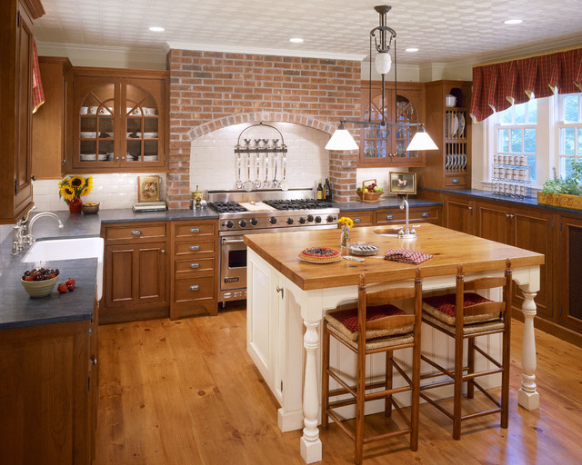 Country Kitchen Traditional Kitchen New York By