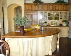 Country Kitchen With Modern Flair farmhouse-kitchen
