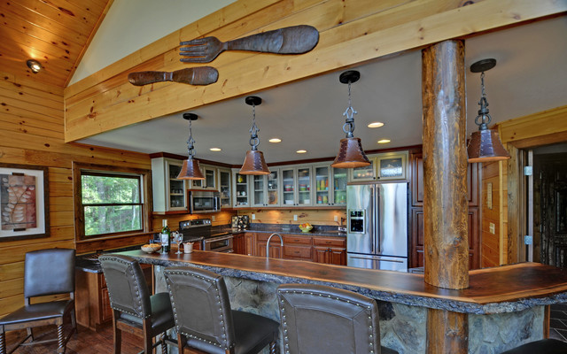 Country Kitchens rustic-kitchen