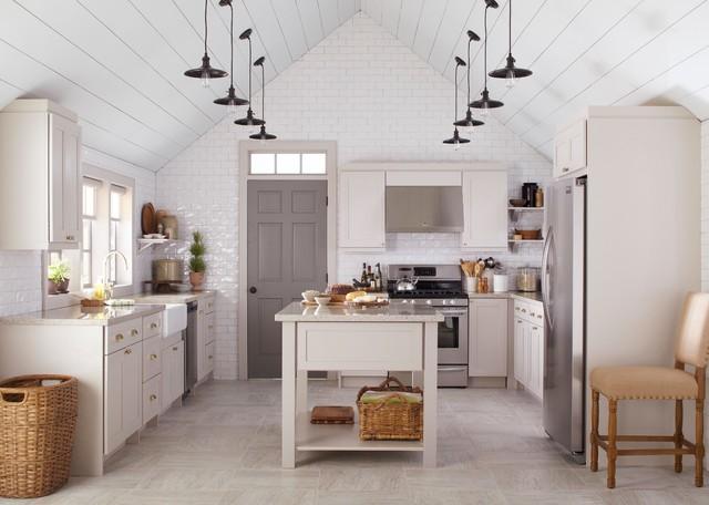 Country Kitchens - Farmhouse - Kitchen - New York - by Martha ...