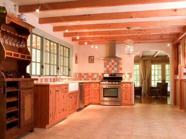 Country Lane traditional-kitchen