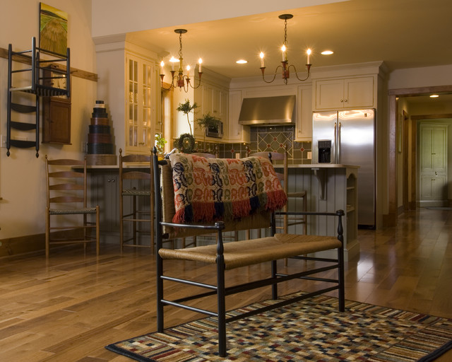 Country Living traditional-kitchen