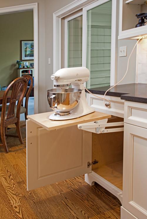 Appliance Garage Kitchen Cabinet Cliff