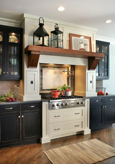 Country Nautical traditional-kitchen