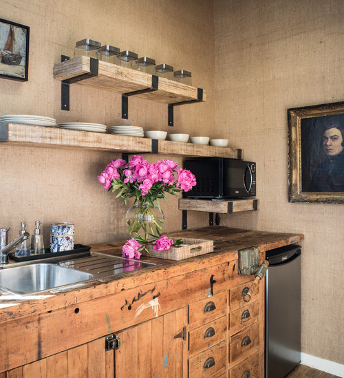Eclectic Kitchens: Waste Not, Want Not