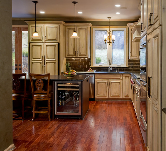 Country Refined Kitchen Remodel: New Hope, PA