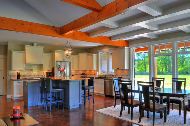 Country Residence traditional-kitchen