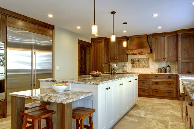 Country Residential Renovation - Traditional - Kitchen - calgary - by ...