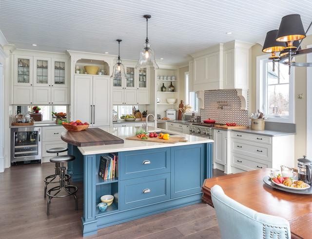 Countryside Traditional Kitchen - Astro Design - Ottawa ...