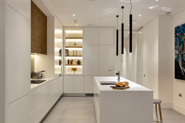 contemporary white kitchen ideas expert eye 8 cabinet lighting solutions for your kitchen 5753
