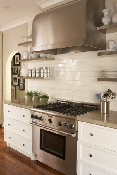Cow Hollow Residence traditional-kitchen