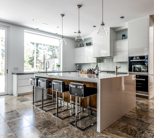 Cox Drive Contemporary Kitchen Toronto By Top