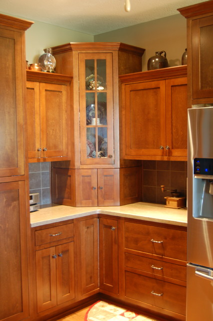 Cox Project Traditional Kitchen Indianapolis By Cabinet Crafters