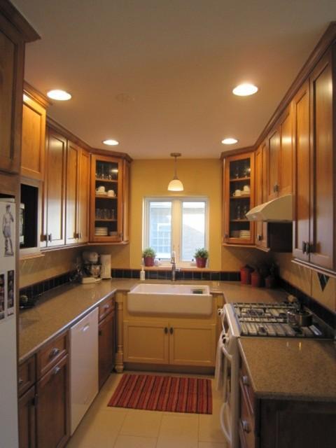 Cozy Country farmhouse-kitchen