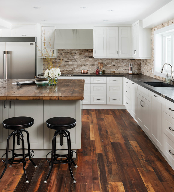 Cozy Country Renotransitional Kitchen Toronto