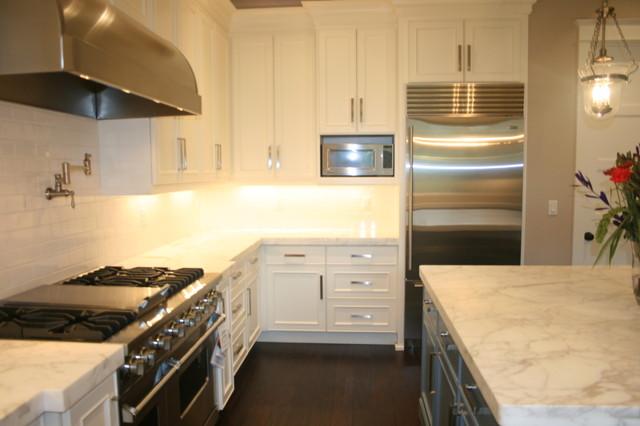 """Cozy Elegance"" traditional-kitchen"