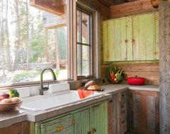 Cozy Kitchen rustic-kitchen
