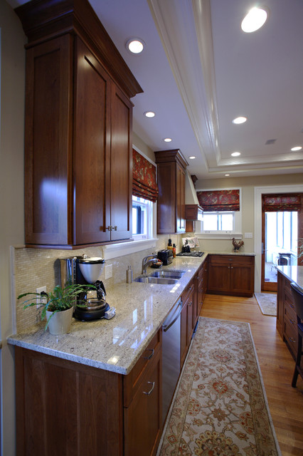 Cozy Kitchen by Mark Korte of Keidel transitional-kitchen