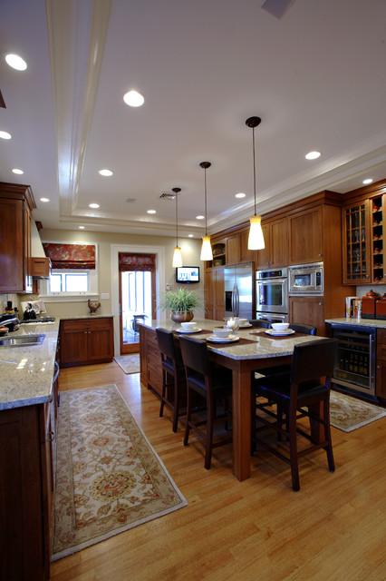 Cozy Kitchen by Mark Korte of Keidel traditional-kitchen