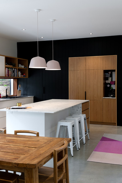 Crafers Contemporary Kitchen Adelaide By Urban Habitats