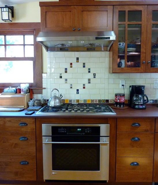 Craftsman Alder Kitchen craftsman-kitchen