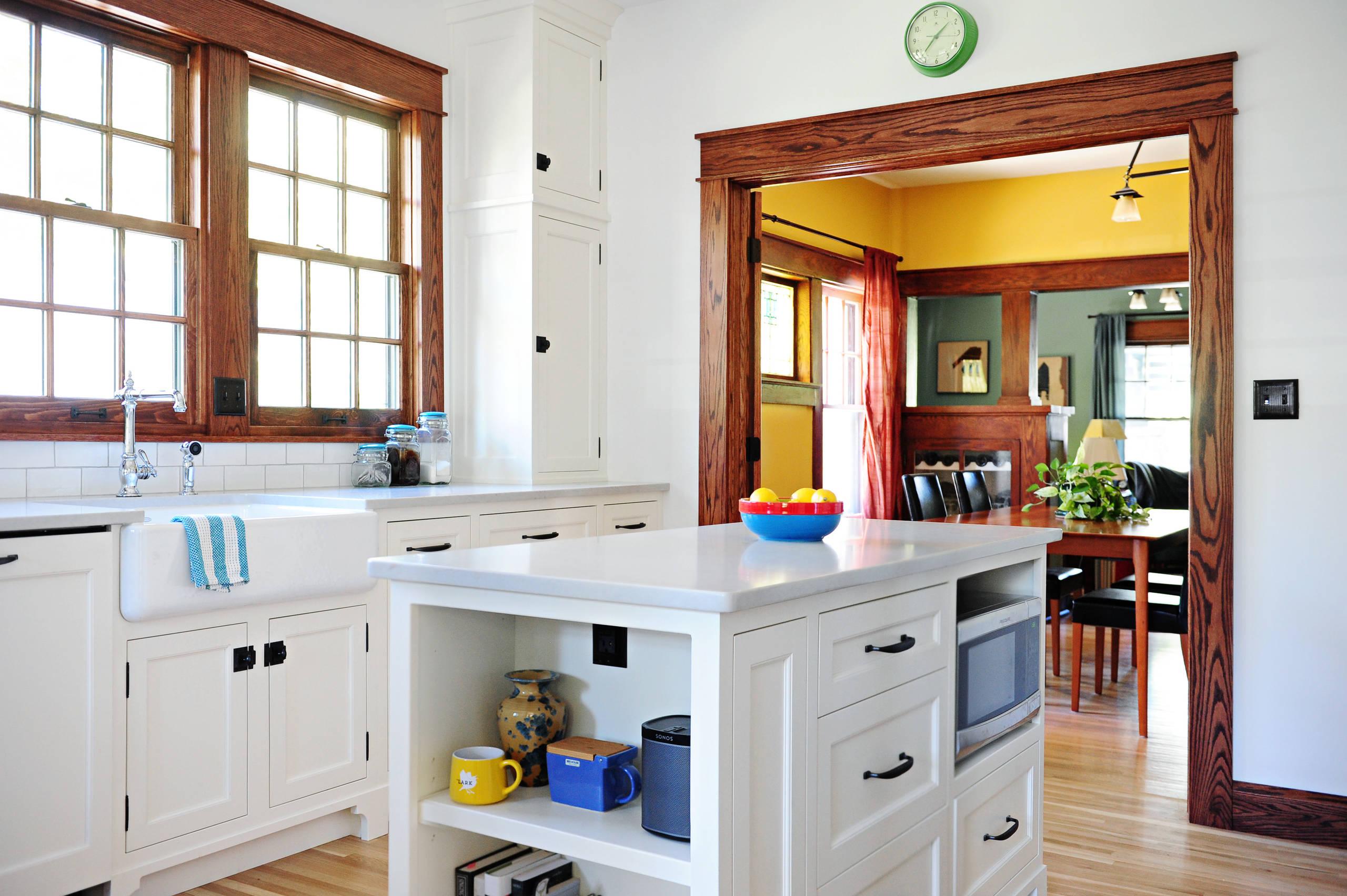 75 Beautiful Craftsman White Kitchen Pictures Ideas November 2020 Houzz