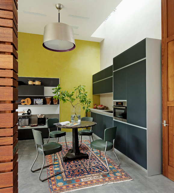 Eclectic Dining Room: Craftsman Cool