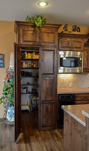 Craftsman Custom Home - Ridgley rustic-kitchen