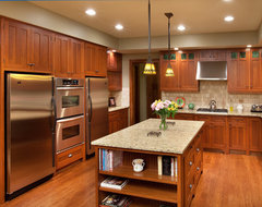Craftsman Home traditional kitchen