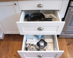 Craftsman House Interior traditional-kitchen