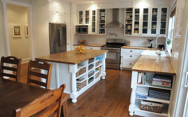 Craftsman House Interior - Traditional - Kitchen - ottawa