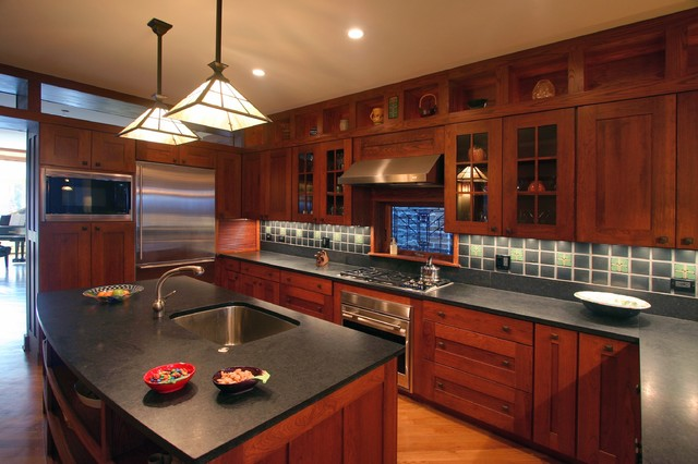 Amish custom kitchens traditional Custom kitchens pictures