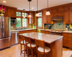 Craftsman Kitchen traditional-kitchen